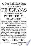 Comentarios de la Guerra de España, 1