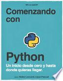 Comenzando con Python