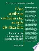 Cómo escribir un currículum vitae en inglés que tenga éxito