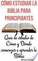 Cómo estudiar la Biblia para principianteS