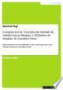 Comparación de 'Cien Años de Soledad' de Gabriel García Márquez y 'El Tambor de Hojalata' de Guenther Grass