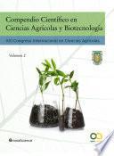 Compendio Científico en Ciencias Agrícolas y Biotecnología (Vol 2)