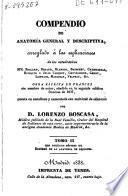 Compendio de anatomia general y descriptiva