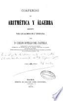 Compendio de aritmética y álgebra