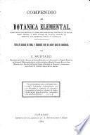Compendio de botánica elemental