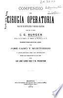 Compendio de cirugía operatoria para uso de estudiantes y médicos prácticos