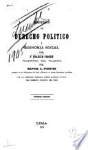 Compendio de derecho politico y economia social