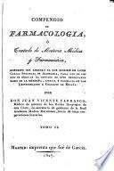 Compendio de farmacología ó Tratado de materia médica y farmacéutica