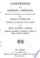 Compendio de Gramática Castellana