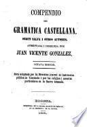 Compendio de gramática castellana según Salvá i otros autores