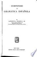 Compendio de gramática española