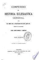 Compendio de historia eclesiastica general