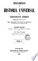 Compendio de historia universal, 1