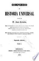 Compendio de historia universal