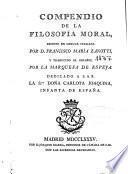 Compendio de la filosofía moral