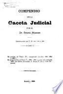 Compendio de la Gaceta judicial