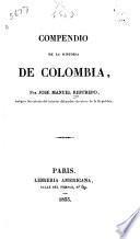 Compendio de la historia de Colombia
