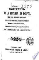 Compendio de la historia de Egipto