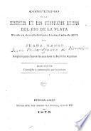 Compendio de la historia de las provincias unidas del Rio de la Plata