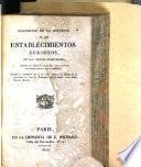 Compendio de la Historia de los establecimientos europeos