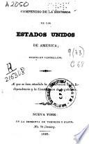 Compendio de la historia de los Estados Unidos de America