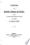 Compendio de la historia general de España