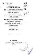 Compendio de la historia natural de Buffon, clasificado según el sistema de Linneo