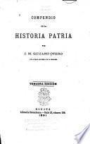 Compendio de la historia patria