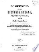 Compendio de la historia romana, politica y literaria