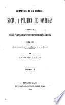 Compendio de la historia socialy y política de Honduras