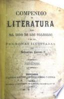 Compendio de Literatura, etc
