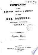 Compendio de los elementos teóricos y prácticas del juego del ajedrez