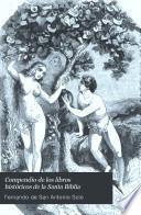 Compendio de los libros históricos de la Santa Biblia