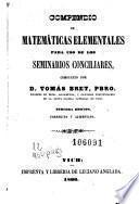 Compendio de matemáticas elementales