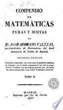 Compendio de matemáticas puras y mistas [sic], 2