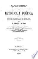 Compendio de retórica y poética