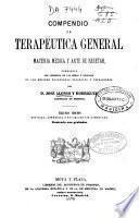 Compendio de terapéutica general materia médica y arte de recetar