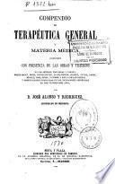 Compendio de terapéutica general y materia médica...