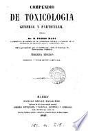 Compendio de toxicología general y particular