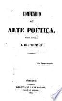 Compendio del arte poética