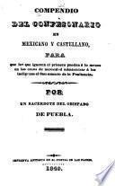 Compendio del Confesonario en mexicano y castellano