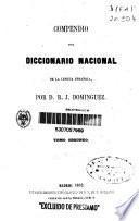 Compendio del diccionario nacional de la lengua española