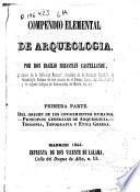 Compendio elemental de arqueología