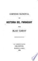 Compendio elemental de historia del Paraguay