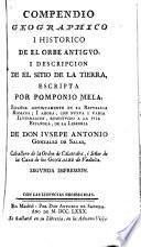 Compendio geográphico i histórico de el orbe antiguo, i descripción de el sitio de la tierra