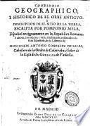 Compendio geográphico i histórico de el orbe antiguo i descripción de el sitio de la tierra