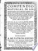 Compendio historial de los hermitaños de nuestro padre San Agustin, del Principado de Cataluña