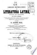 Compendio histórico-crítico de literatura latina