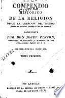 Compendio histórico de la religion