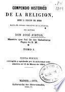 Compendio histórico de la religión